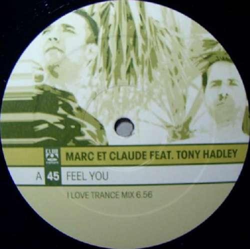 Bild Marc Et Claude Feat. Tony Hadley - Feel You (2x12) Schallplatten Ankauf