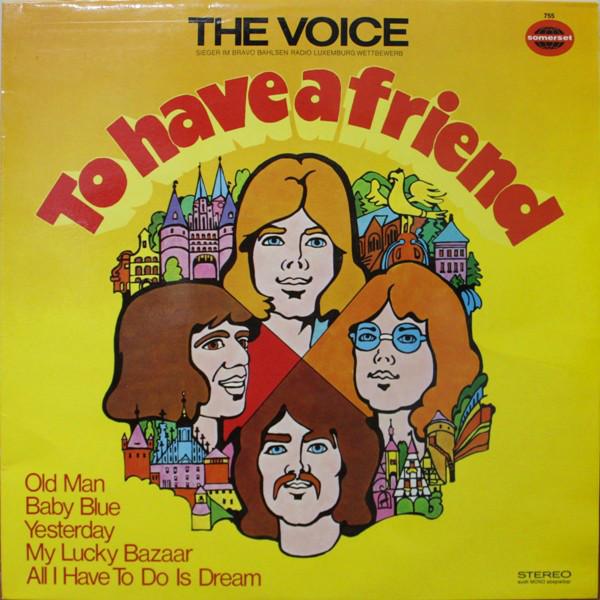 Cover The Voice (26) - To Have A Friend (LP, Album) Schallplatten Ankauf