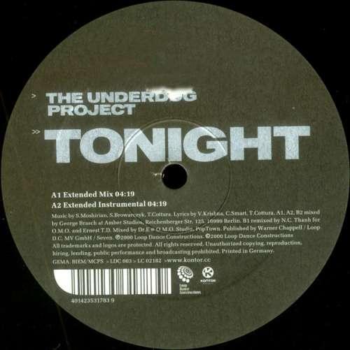 Cover The Underdog Project - Tonight (12, Maxi) Schallplatten Ankauf