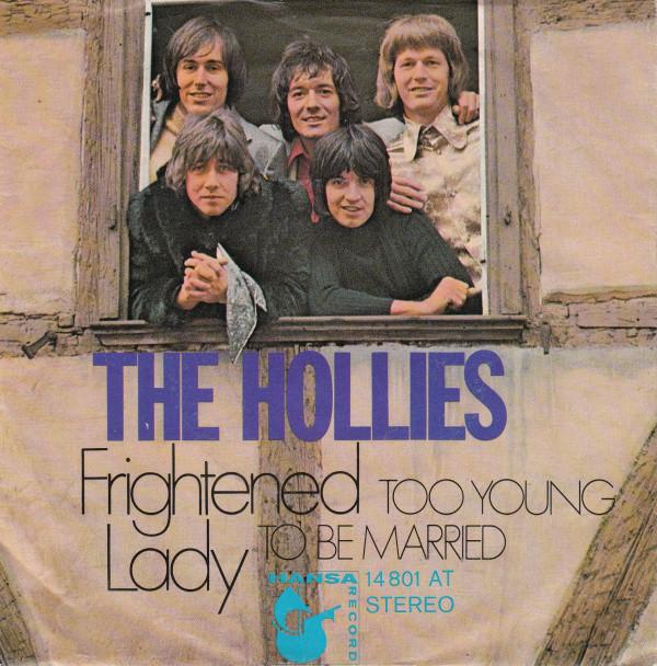 Bild The Hollies - Frightened Lady (7, Single) Schallplatten Ankauf