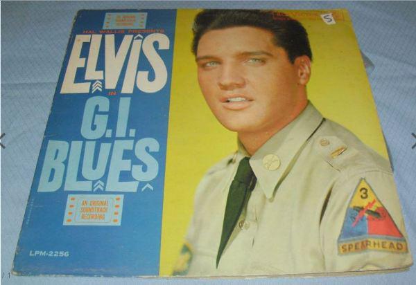 Cover Elvis Presley - G. I. Blues (LP, Album, Mono) Schallplatten Ankauf