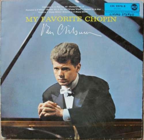 Bild Van Cliburn - My Favorite Chopin (LP) Schallplatten Ankauf