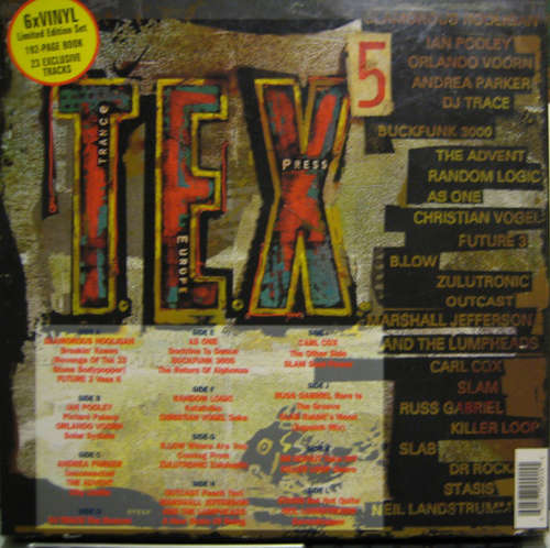 Cover Various - Trance Europe Express 5 (6xLP, Comp) Schallplatten Ankauf