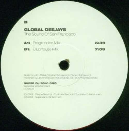 Bild Global Deejays - The Sound Of San Francisco (12) Schallplatten Ankauf
