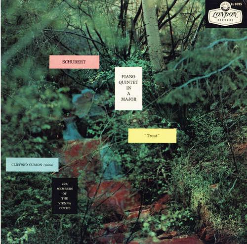 """Bild Schubert*, Clifford Curzon with Members Of The Vienna Octet* - Piano Quintet In A Major """"Trout"""" (LP, Album, Mono) Schallplatten Ankauf"""