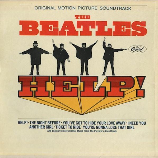 Cover The Beatles - Help! (Original Motion Picture Soundtrack) (LP, Album, Mono, Scr) Schallplatten Ankauf