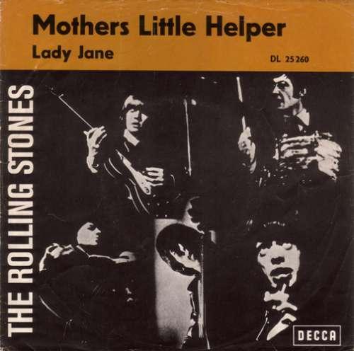 Cover zu Rolling Stones, The - Mothers Little Helper / Lady Jane (7, Single) Schallplatten Ankauf