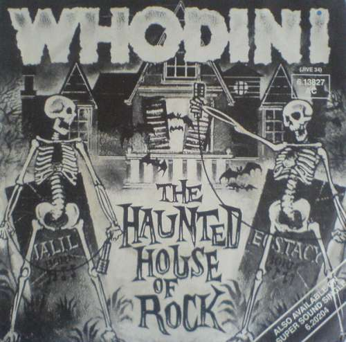 Cover Whodini - The Haunted House Of Rock (7, Single) Schallplatten Ankauf