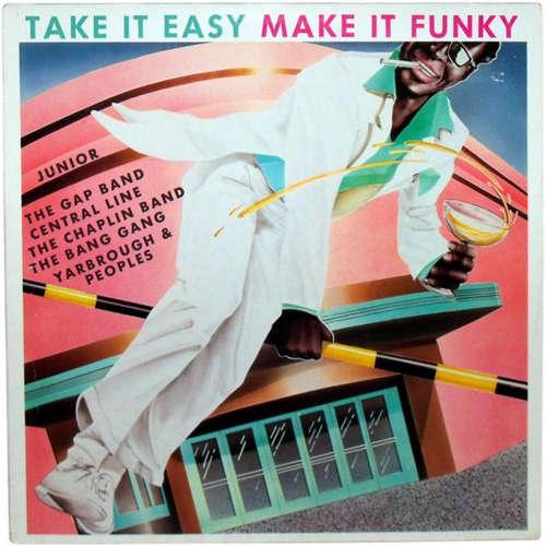 Cover zu Various - Take It Easy Make It Funky (LP, Album, Comp) Schallplatten Ankauf