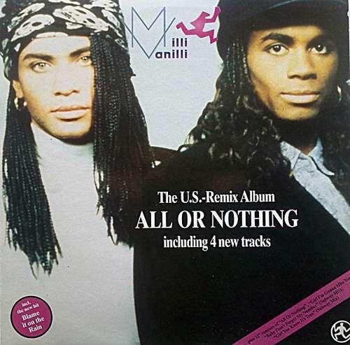 Cover Milli Vanilli - All Or Nothing - The U.S. Remix Album (LP, Album) Schallplatten Ankauf