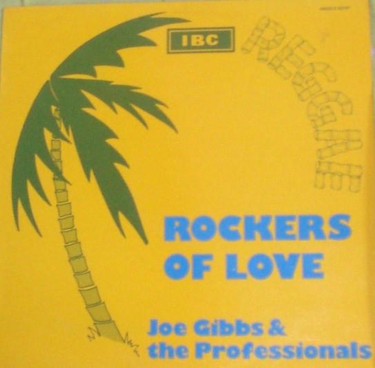 Cover Joe Gibbs & The Professionals - Rockers Of Love (12, Red) Schallplatten Ankauf