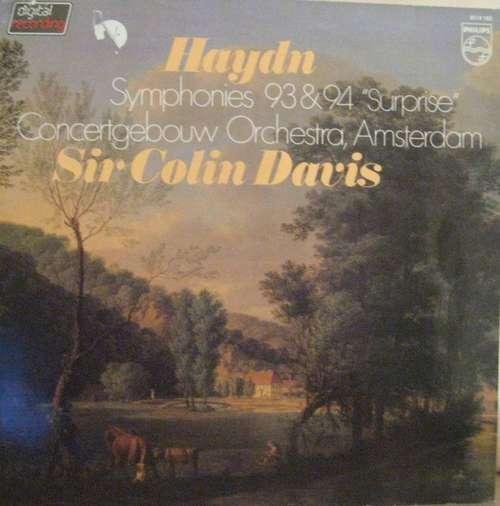 Bild Haydn* / Concertgebouw Orchestra, Amsterdam*, Sir Colin Davis - Symphonies 93 & 94 Surprise (LP, dig) Schallplatten Ankauf