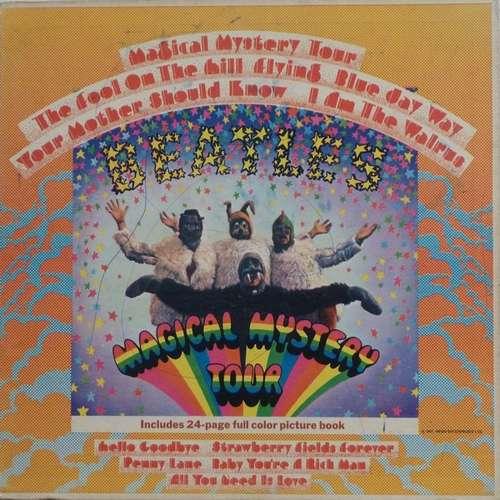 Cover The Beatles - Magical Mystery Tour (LP, Album, Scr) Schallplatten Ankauf
