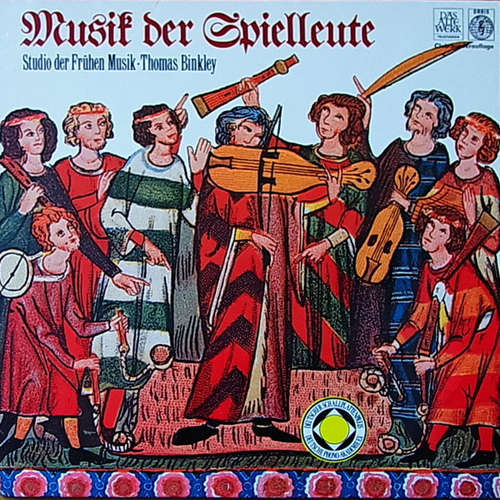 Cover Thomas Binkley, Studio Der Frühen Musik - Musik Der Spielleute (LP, Album, Club) Schallplatten Ankauf