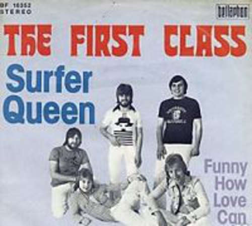 Cover The First Class* - Surfer Queen (7, Single) Schallplatten Ankauf