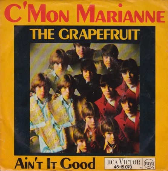 Cover Grapefruit - C'mon Marianne (7, Single) Schallplatten Ankauf