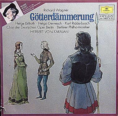 Bild Richard Wagner, Berliner Philharmoniker, Herbert Von Karajan - Götterdämmerung (LP, Album) Schallplatten Ankauf