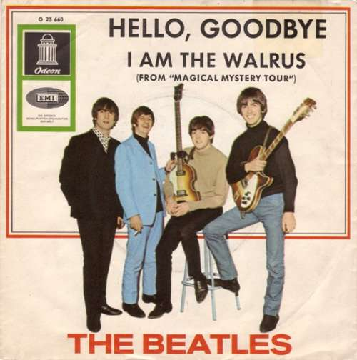 Cover The Beatles - Hello, Goodbye / I Am The Walrus (7, Single, Bar) Schallplatten Ankauf