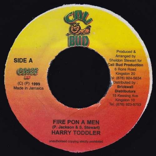Bild Harry Toddler / Vyl Mark - Fire Pon A Men / No Yatty (7) Schallplatten Ankauf