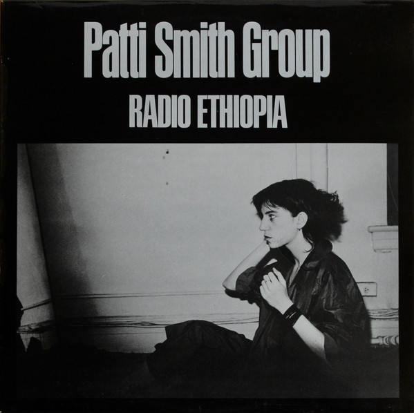 Cover Patti Smith Group - Radio Ethiopia (LP, Album, Bla) Schallplatten Ankauf