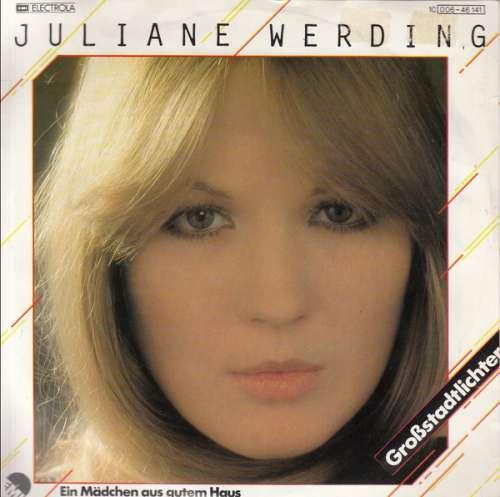 Cover zu Juliane Werding - Großstadtlichter (7, Single) Schallplatten Ankauf