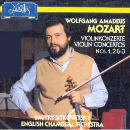 Bild Wolfgang Amadeus Mozart - Dmitry Sitkovetsky, English Chamber Orchestra - Violin Concertos Nos.1, 2 & 3 (LP) Schallplatten Ankauf