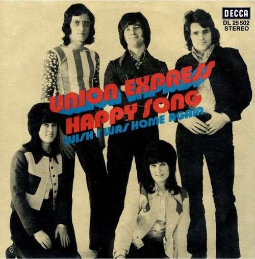 Bild Union Express - Happy Song (7, Single) Schallplatten Ankauf