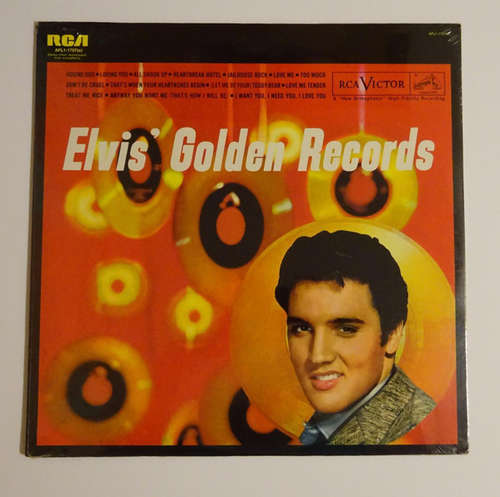 Cover Elvis Presley - Elvis' Golden Records (LP, Comp, RE) Schallplatten Ankauf