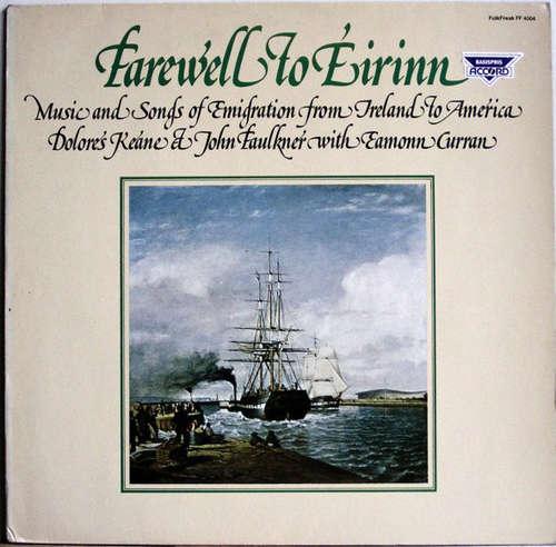 Cover Dolores Keane, John Faulkner & Éamonn Curran - Farewell To Éirinn (LP) Schallplatten Ankauf