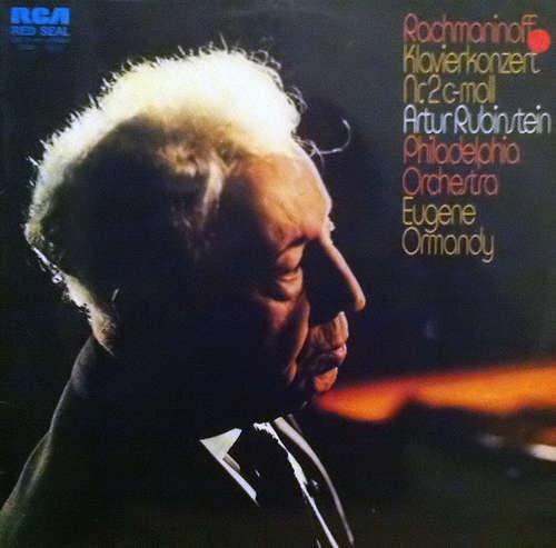 Bild Rachmaninoff* by Artur Rubinstein* and Philadelphia Orchestra* - Klavierkonzert Nr.2 C-Moll (LP) Schallplatten Ankauf