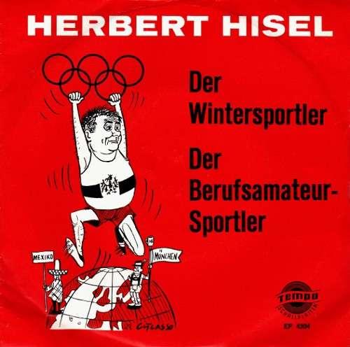 Cover Herbert Hisel - Der Wintersportler / Der Berufsamateur-Sportler (7, EP, Mono) Schallplatten Ankauf