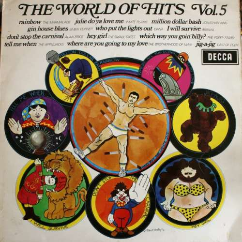 Cover zu Various - The World Of Hits Vol. 5 (LP, Comp) Schallplatten Ankauf