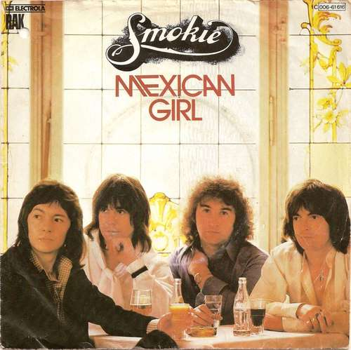 Bild Smokie - Mexican Girl (7, Single) Schallplatten Ankauf