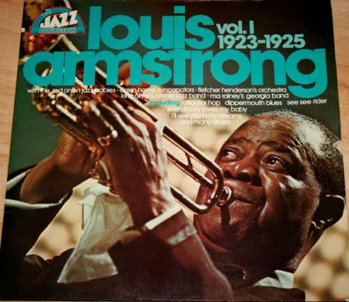 Cover zu Louis Armstrong - The Jazz Collection Vol.1 1923-1925 (2xLP, Comp) Schallplatten Ankauf