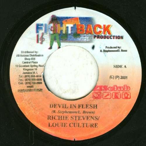Bild Richie Stephens & Louie Culture / D.Y.C.R* - Devil In Flesh / Dem Man Deh (7) Schallplatten Ankauf