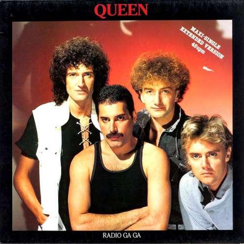 Cover Queen - Radio Ga Ga (12, Maxi) Schallplatten Ankauf