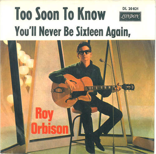 Bild Roy Orbison - Too Soon To Know (7, Single) Schallplatten Ankauf