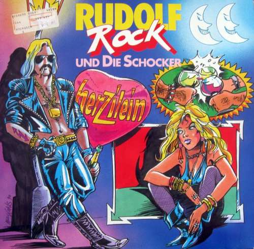 Bild Rudolf Rock & Die Schocker - Herzilein (12) Schallplatten Ankauf