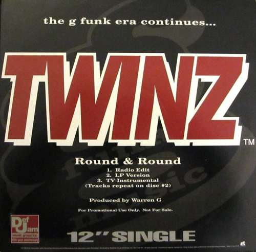Cover Twinz (2) / Dove Shack / G Funk Era - Round & Round / Summertime In The LBC / The G Funk Era Continues... (2xVinyl, Promo, Single) Schallplatten Ankauf