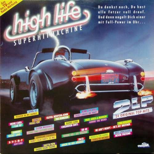 Cover Various - High Life - Superhitmachine (2xLP, Comp) Schallplatten Ankauf
