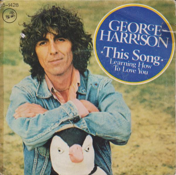 Cover George Harrison - This Song (7, Single) Schallplatten Ankauf