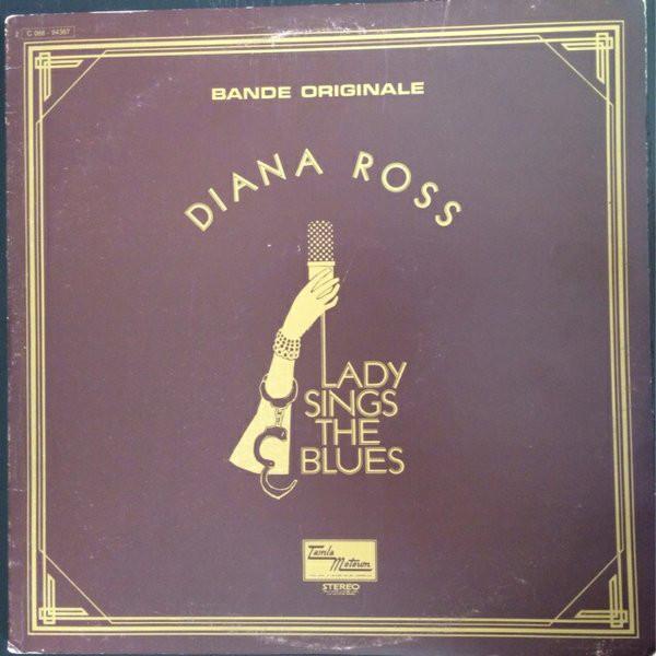 Cover zu Diana Ross - Lady Sings The Blues (Bande Originale) (LP, Album, Gat) Schallplatten Ankauf