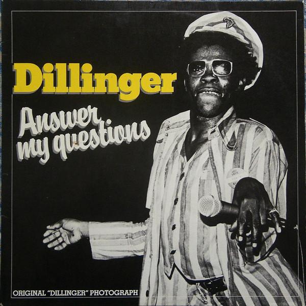 Bild Dillinger - Answer Me Question (LP, Album) Schallplatten Ankauf