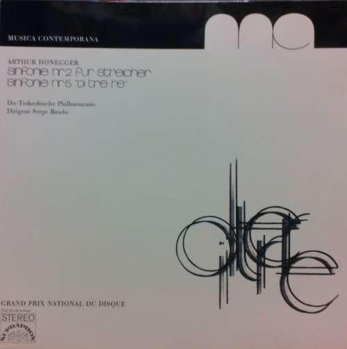 Cover zu Arthur Honegger - Sinfonie Nr.2 Für Streicher - Sinfonie Nr.5 Di Tre Re (LP) Schallplatten Ankauf