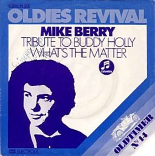 Bild Mike Berry With The Outlaws (3) - Tribute To Buddy Holly (7, Single, Mono, RE) Schallplatten Ankauf