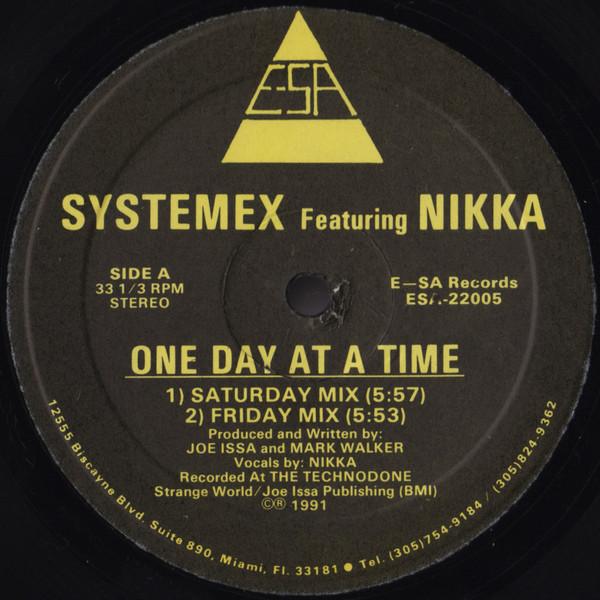 Bild Systemex Featuring Nikka - One Day At A Time (12) Schallplatten Ankauf