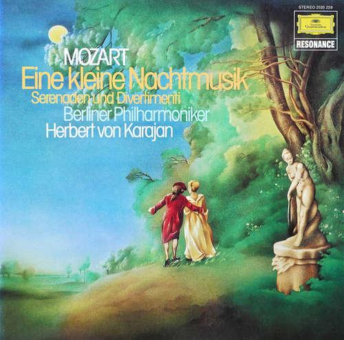 Bild Mozart* : Herbert von Karajan • Berliner Philharmoniker - Eine Kleine Nachtmusik Serenaden Und Divertimenti (LP, Comp, RE) Schallplatten Ankauf