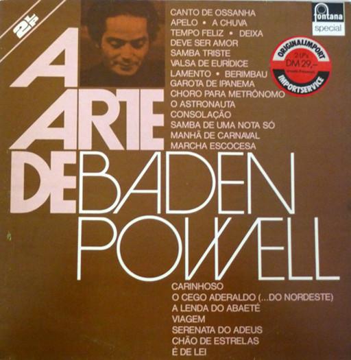 Cover Baden Powell - A Arte De Baden Powell (2xLP, Comp, RE) Schallplatten Ankauf