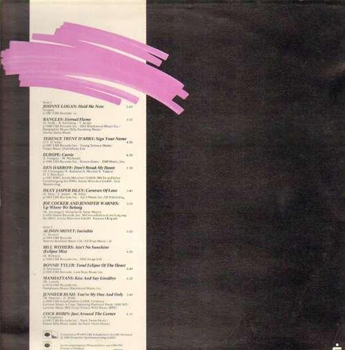 Cover zu Various - Hold Me Now (LP, Comp) Schallplatten Ankauf