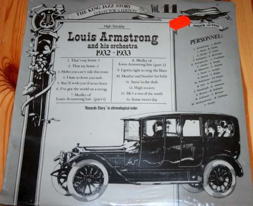 Bild Louis Armstrong And His Orchestra - High Society 1932-1933 (LP, Comp) Schallplatten Ankauf